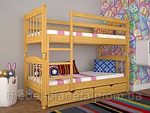 """Двухъярусная кровать для детской комнаты """"Трансформер 3"""" (Тис)"""