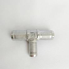Трійник тосольний Atiker 19х16х19 (алюміній)