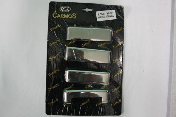 Накладки на ручки (4 шт., нерж.) Ford Transit 1994-2000 гг.