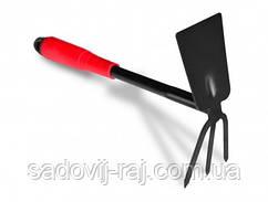 Мотыжка с покрытием Technics 71-060 пластиковая ручка, 320 мм