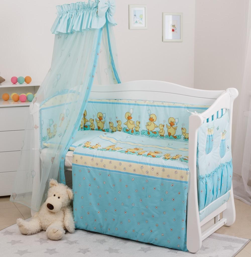 Детское постельное белье Twins Standart Basic C-025 Утята 8 эл