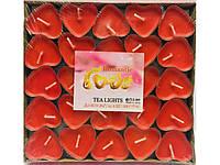 Набор Свечей Сердечко Романтика День Святого Валентина Подарок Влюбленным Набор 25 шт