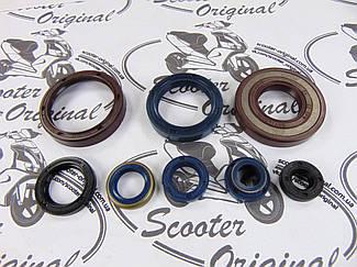 Комплект сальників двигуна CENTAURO для Husqvarna CR, SM, WR, WRE 125 cc (682A128SR)