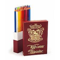 Художественные карандаши Koh-i-Noor Polycolor Retro, 24 цвета