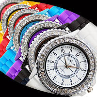 Часы женские Geneva Crystal 7 цветов