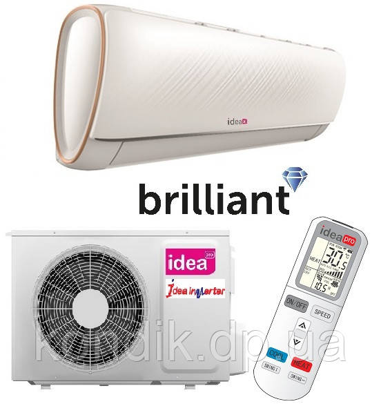 Кондиционер Idea Pro IPA-24HRFN1 Brilliant Inverter