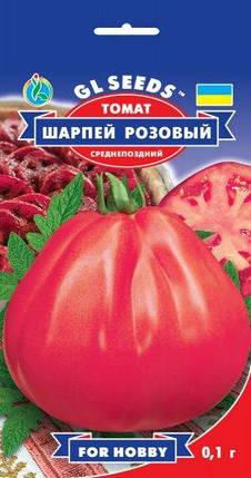 Томат Шарпей розовый, пакет 0,1г - Семена томатов, фото 2