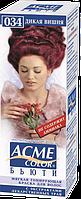 "Тонирующая краска для волос без аммиака Acme Color ""Бьюти"" тон 034 Дикая вишня"