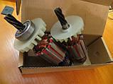 Якір ротор з підшипниками на дриль иэ1035 (іе-1035.э1у2), (іе-1035.э2у2), фото 4