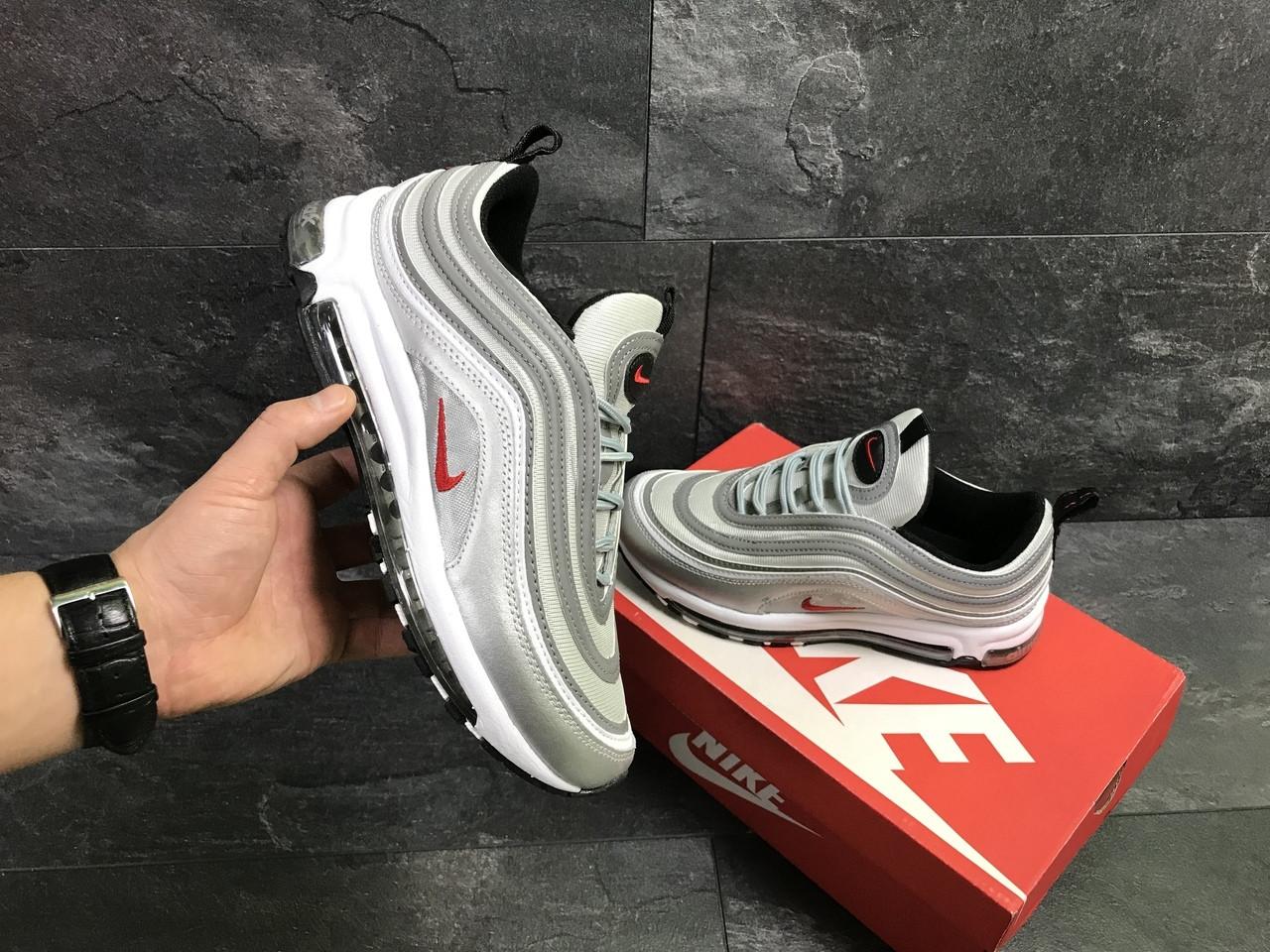 6210e3f2 Мужские кроссовки Nike Air Max 97 Silver (reflective) - Обувь и одежда с  доставкой