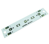 Печатна плата алюминиевая 000-04-03 3 светодиода 3528 70x13мм 4541