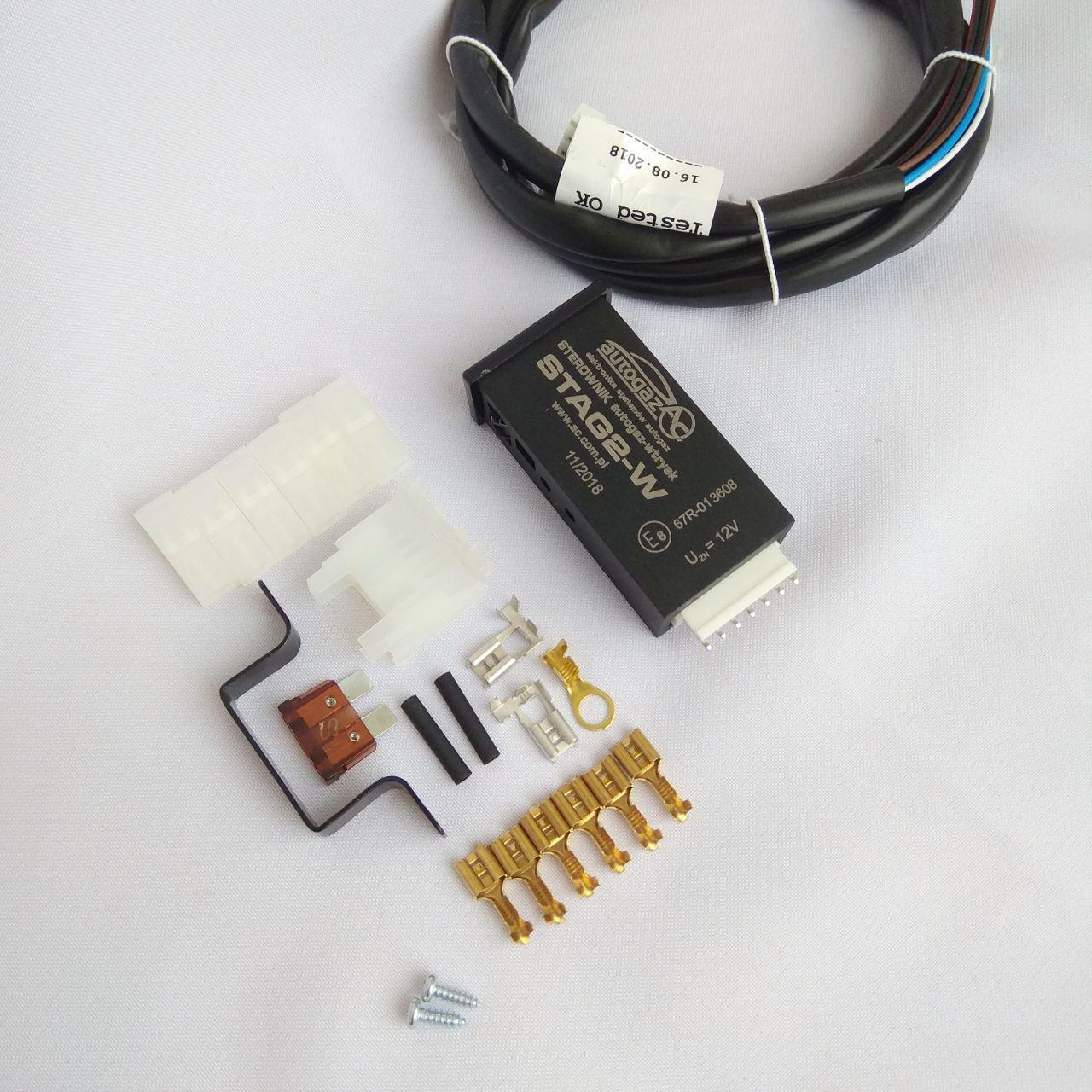 Переключатель газ-бензин Stag2-W (инжектор)