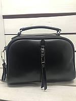 Кожаная сумка на плече
