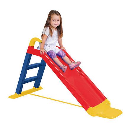 Горка детская пластиковая Tobi Toys 140 см, фото 2