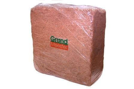 Кокосовый блок GrondMeester, 5кг 30х30х14 см (100 торф х 0 чипсы) UNI, фото 2