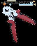 Клещи для опрессовки трубчатых наконечников 0,25-6мм² (квадрат) ULTRA (4372112), фото 3