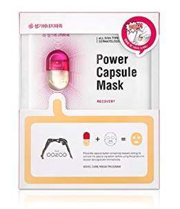 Маска для восстановления и тонизирования The Oozoo Power Capsule Mask Recovery