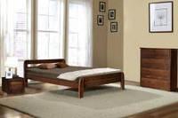 Двуспальная деревянная кровать Стефания.