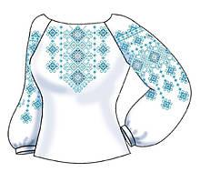 СВЖБ-69. Заготовка Жіноча сорочка лляна біла