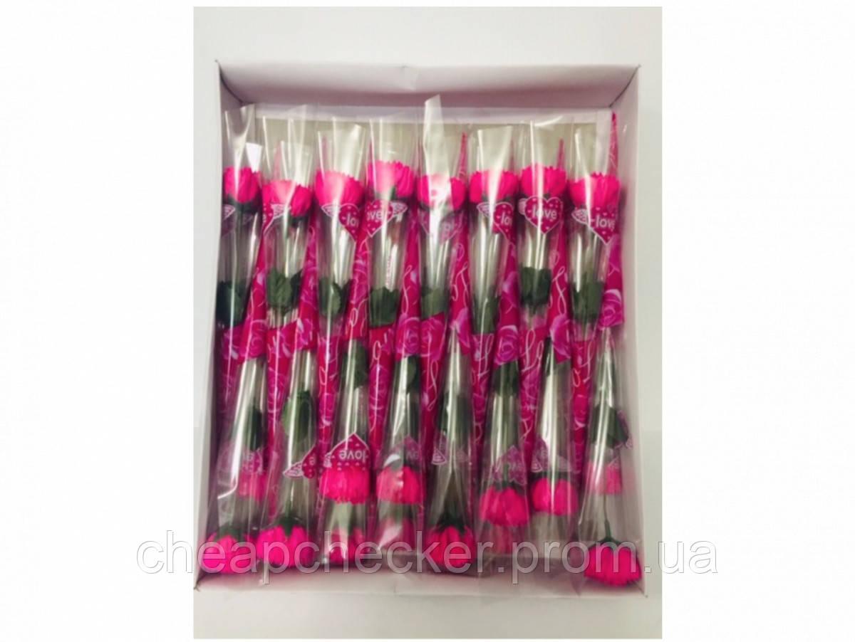 Мыло Цветок для Ванной Ароматическая День Святого Валентина 8 Марта Подарок 32 шт в Упаковке