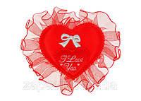 Мягкий Магнитик Сердечко Подарок ко Дню Святого Валентина 50 шт в Упаковке, фото 1