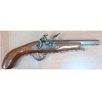Зажигалка пистолет Мушкет №0454
