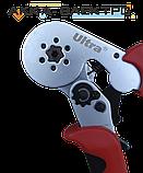 Клещи для опрессовки трубчатых наконечников 0,25-6мм² (шестигранник) ULTRA (4372122), фото 2