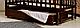 Деревянная кроватка-колыбель Valeri на шарнирах с подшипником, фото 8