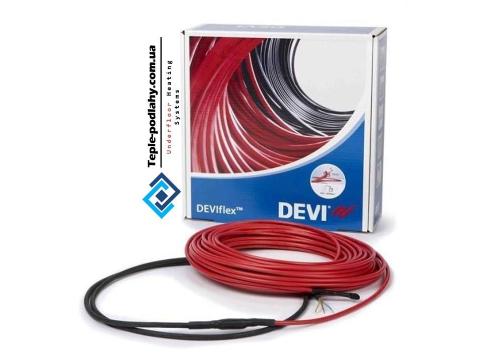 Кабель нагревательный  в стяжку DEVIflex 18T (0.7 м.кв.) 130 вт