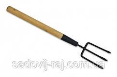 Вилка посадочная Technics c деревянной ручкой 450мм (71-062)