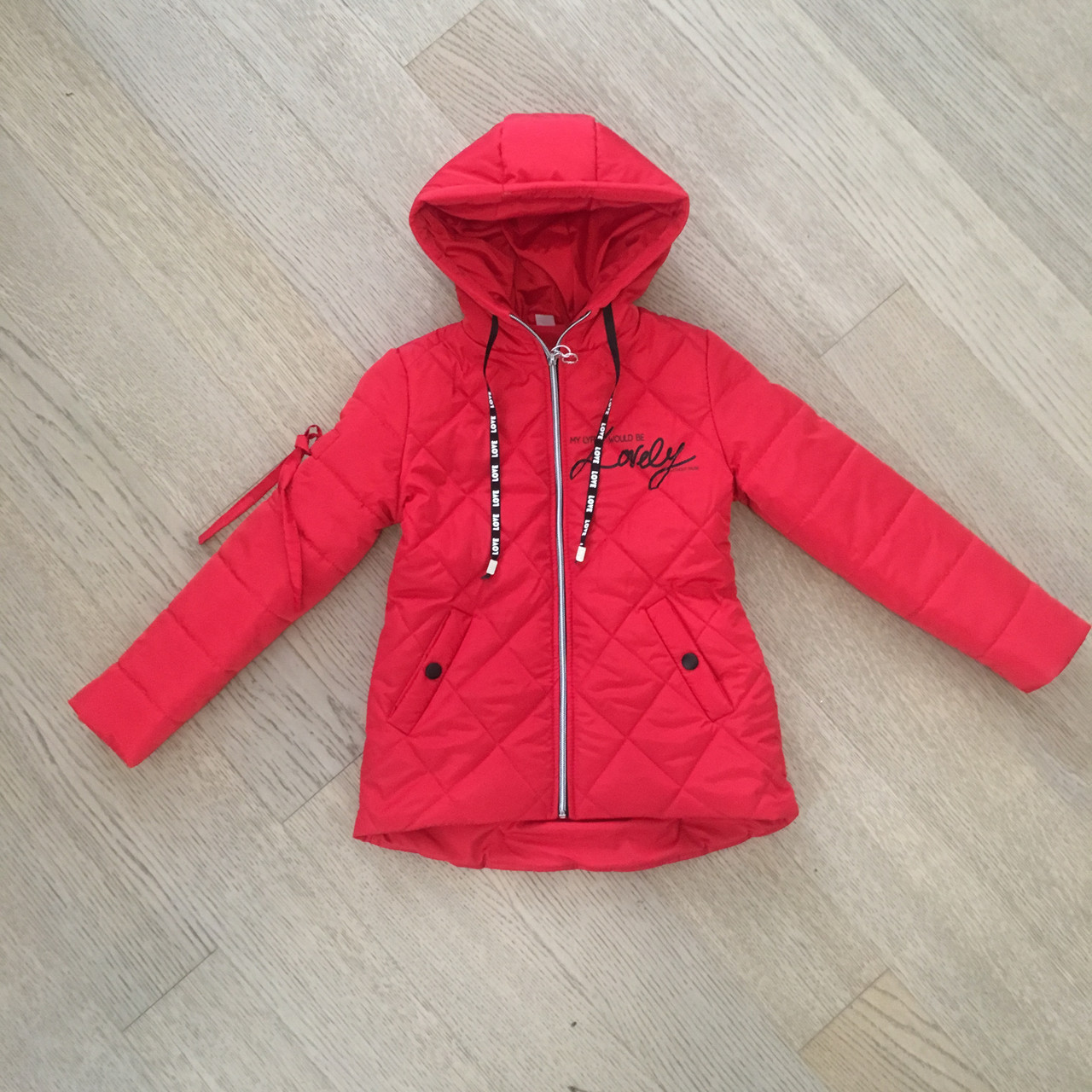 Весенние детские курточки для девочек модные