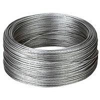 Трос стальной оцинкованный ISO-2408 6х12 14 мм, фото 1