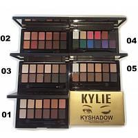 Палитра теней(тени для век)Kylie Kyshadow (12 цветов)  (Копия)Кайли