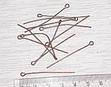 Піни шпильки 4 см мідь 10 грм /66 шт/ біжутерні, фото 2