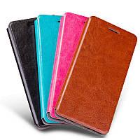 Кожаный чехол книжка Mofi для Samsung Galaxy M30 (4 цвета)
