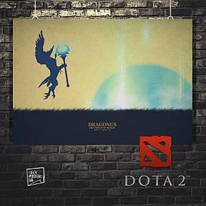 Постер Dragonus, Дота, Dota. Размер 60x42см (A2). Глянцевая бумага