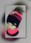 Вязаные шапки – самые модные и красивые модели !