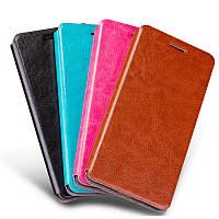Кожаный чехол книжка Mofi для  Samsung Galaxy M10 (4 цвета)