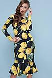 Тюльпаны желтые платье Фаина д/р, фото 4