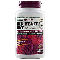 Красный дрожжевой рис, Nature's Plus, 600 мг, 60 таблеток