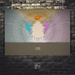 Постер Invoker, Инвокер. Размер 60x42см (A2). Глянцевая бумага