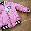 Красивая курточка детская для девочки бомбер , фото 6
