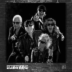 Постер Scorpions. Размер 60x60см (A1). Глянцевая бумага