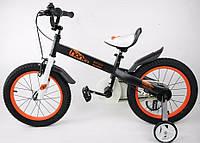 Детский велосипед 16 Royal Baby Honey Steel черный