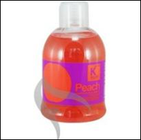 Шелковистый шампунь для сухих и чувствительных волос Kallos Peach 1 л