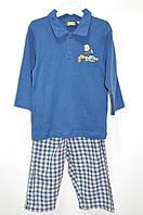 Пижама синяя 12 мес (М)