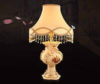 Настольная лампа Fan Saqi из керамики, авторская ручная работа, для спальни, кабинета, гостиной.
