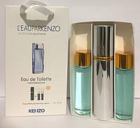 Мини набор из 3-х духов Kenzo Leu Pear Men 45 ml