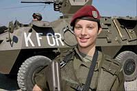 Армейский бордовый (maroon) берет. ВС Австрии, оригинал.