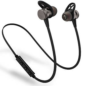 Bluetooth наушники HOOK Magnetic Gray (hub_bsee81159_my)